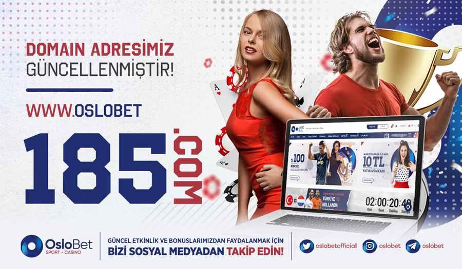 Oslobet Giriş - Oslobet Bahis ve Casino - Oslobet 185 giriş